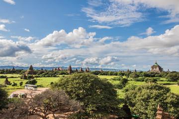 Foto op Aluminium the pagodas of Bagan