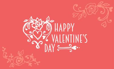 valentine's day post card.