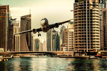Composing - Notwasserung eines Passagierflugzeugs