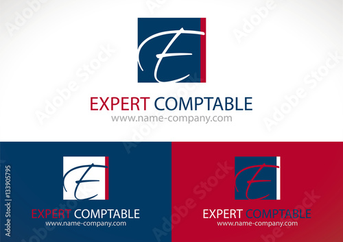 Logo Cabinet Comptable Expert Stock Image And Royalty Free Vector