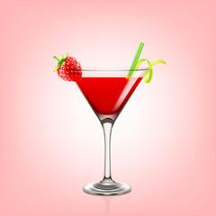 daiquiri strawberry cocktail