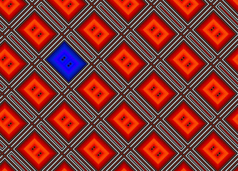 Abstract background of a red rectangulars