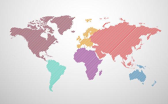 monde carte