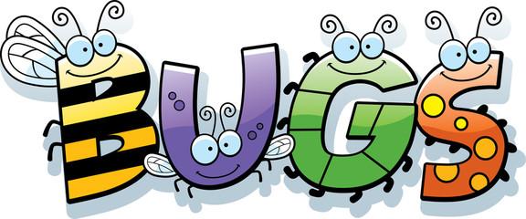 Cartoon Bugs Word
