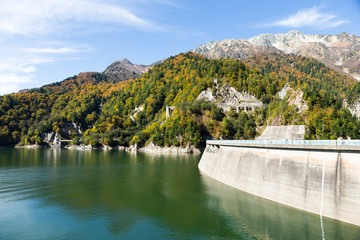 Japan Kurobe Dam