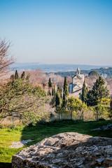 Chapelle Sainte-Croix de l'Abbaye de Montmajour près d'Arles