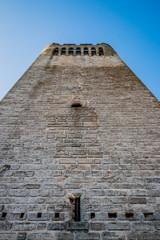 Donjon de l'Abbé dans l'Abbaye de Montmajour près d'Arles