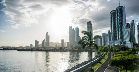 Fototapete - The Panama City - Panama