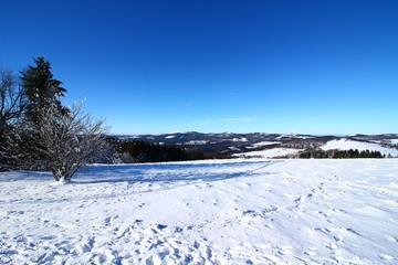 Winter in der bayerischen Rhön