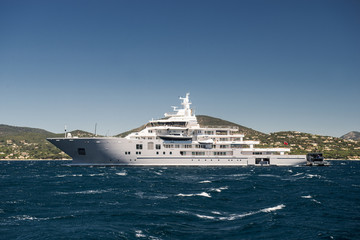 Yacht in France