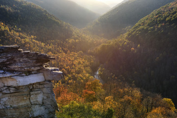 Wall Mural - Colorful Valley in West Virginia in Fall