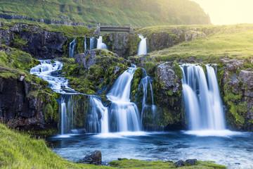 Iceland cascade - Kirkjufellsfoss