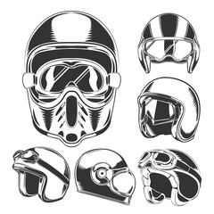 Motorcycle Helmet Collection