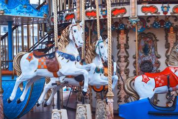 Retro carousel horse