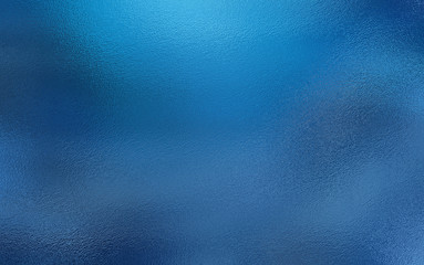 Blue foil texture background Wall mural