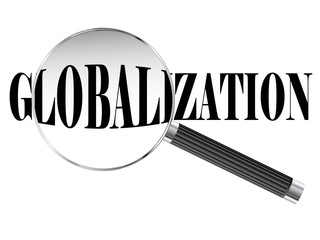 Globalization Magnifying Glass