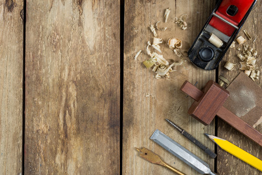 Old woodworking tools