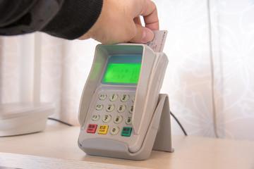 クレジットカード端末ピンパッド