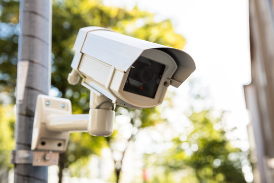 Security Camera On The Street