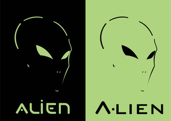 Alien. Alien head. Alien face. Green Mask. Racer. Rider. Pilot. Superhero. Villain. Artwork. Warrior Mascot. Warrior Head. Suitable for team identity, mascot, clothing, biker community, etc .