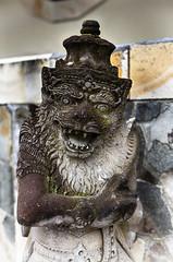 Balinese god statue, indonesia