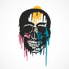 squelette,tête