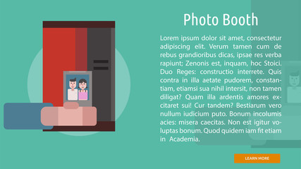 Photo Booth Conceptual Banner