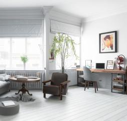 Möbliertes Apartment (Detail)