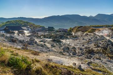 japanese landscape - osorezan - mutsu - aomori