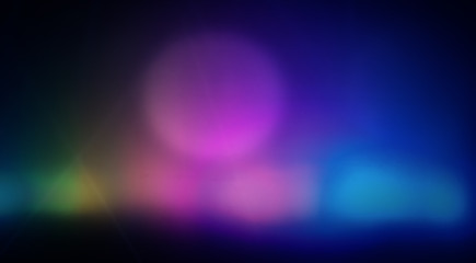Abstract colorful background photo (on-screen projection, nice texture). Big round spots.