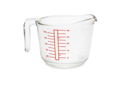 glass measuring bowl