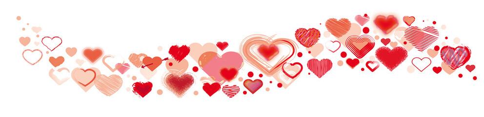 valentine - viele verschiedene Herzen