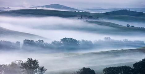 Misty Valley of Tuscany