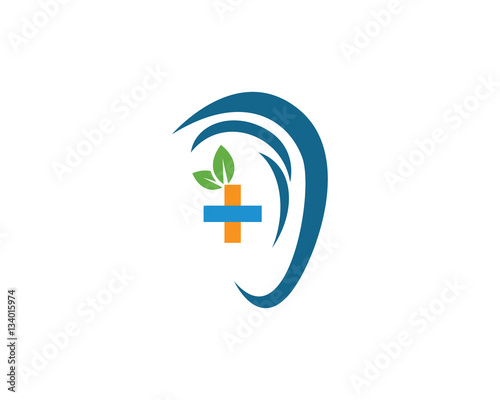 Ear Logo Template vector icon designu0026quot; Stock image and royalty-free ...