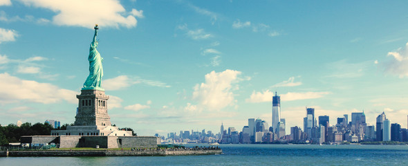 Photo sur Toile New York Panorama on Manhattan, New York City