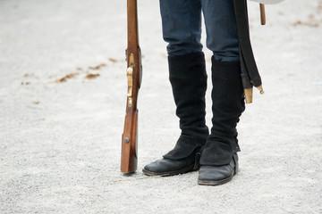 Historische Stiefel