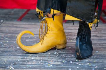 Mittelalterliche Schuhe
