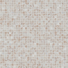 Seamless large texture of swimming pool square mosaic tiles 05