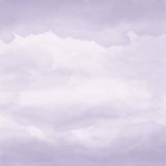 Watercolor artistic hand-painted violet textured abstract background