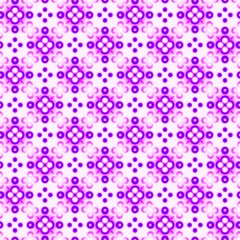 Abstract violet and pink tile pattern.
