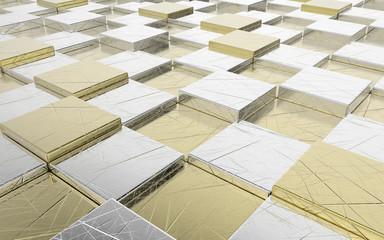 Abstrakcyjne sześciany