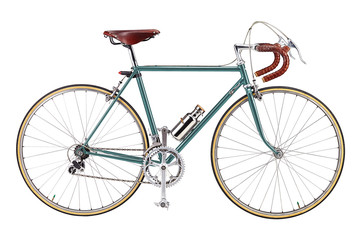 Aluminium Prints Bicycle Road bike, vintage roadbike