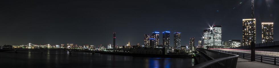東京風景(晴海大橋)
