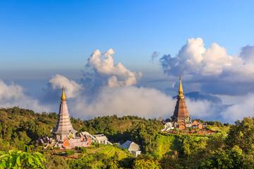Twin Royal Stupas