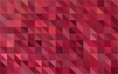 Vector photo of multi pink tone colour in repeated triangle shape abstract.