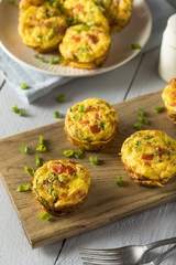 Homemade Healthy Breakfast Egg Muffins