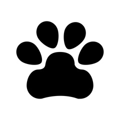 animal footprint isolated icon vector illustration design
