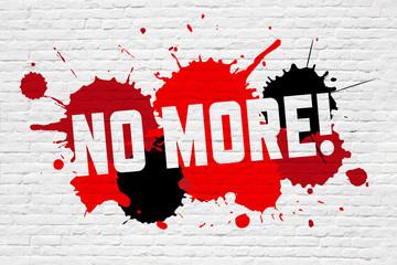 No more !