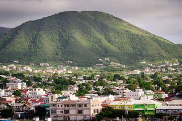 Saint Kitts coastline