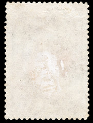 old postage stamp